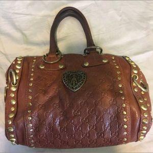 Gucci leather Babouska 181583 5792 handbag